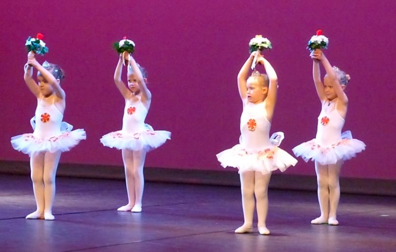 cours de danse Classique et Modern'Jazz 4 ANS Les Chérubins