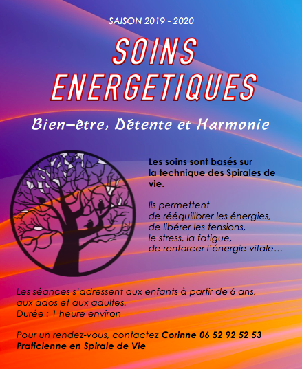 Planning soins energetiques 2019 2020
